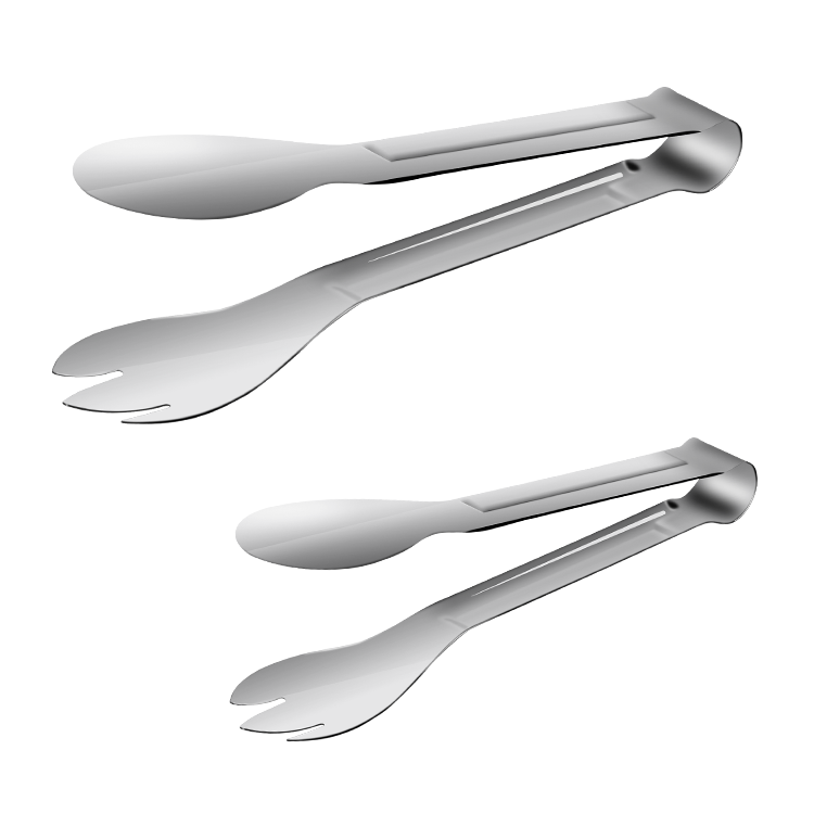 Multi-function food tong